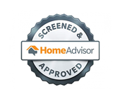 HomeAdvisor Screened & Approved logo